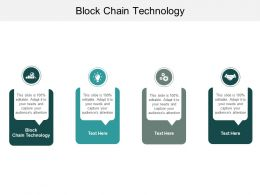 Block Chain Technology Ppt Powerpoint Presentation Model Styles Cpb
