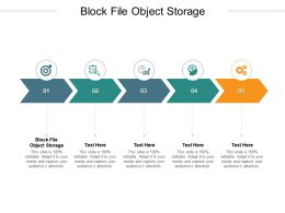 Block File Object Storage Ppt Powerpoint Infographic Template Layout Cpb