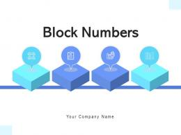 Block Numbers Resource Management Workforce Process Success Strategy