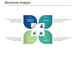 Blockchain Analysis Ppt Powerpoint Presentation Inspiration Summary Cpb