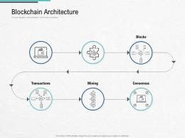 Blockchain Architecture Design And Use Cases Ppt Information