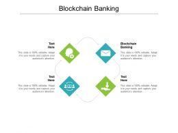 Blockchain Banking Ppt Powerpoint Presentation Styles Design Ideas Cpb
