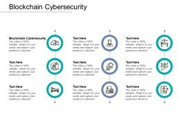 Blockchain Cybersecurity Ppt Powerpoint Presentation Inspiration Gallery Cpb
