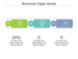 Blockchain Digital Identity Ppt Powerpoint Presentation Ideas Graphic Images Cpb