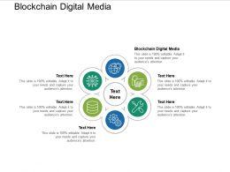 Blockchain Digital Media Ppt Powerpoint Presentation Professional Graphics Download Cpb