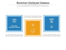 Blockchain Distributed Database Ppt Powerpoint Presentation Show Professional Cpb