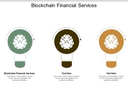 Blockchain Financial Services Ppt Powerpoint Presentation Gallery Deck Cpb