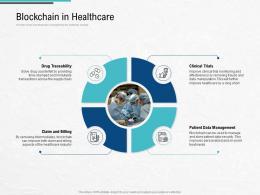 Blockchain In Healthcare Blockchain Architecture Design And Use Cases Ppt Professional