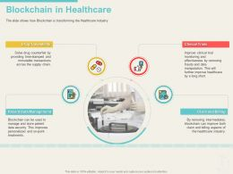 Blockchain In Healthcare Frauds Ppt Powerpoint Infographic Template Guide