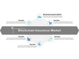 Blockchain Insurance Market Ppt Powerpoint Presentation Infographic Template Graphics Cpb