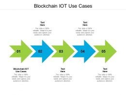 Blockchain Iot Use Cases Ppt Powerpoint Presentation Styles Styles Cpb