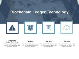 Blockchain Ledger Technology Ppt Powerpoint Presentation Inspiration Example Introduction Cpb