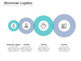 Blockchain Logistics Ppt Powerpoint Presentation Show Deck Cpb