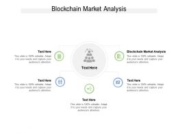 Blockchain Market Analysis Ppt Powerpoint Presentation Icon Show Cpb