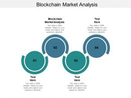 Blockchain Market Analysis Ppt Powerpoint Presentation Layouts Outfit Cpb