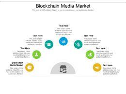 Blockchain Media Market Ppt Powerpoint Presentation Icon Images Cpb