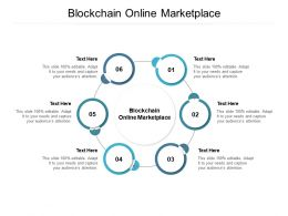 Blockchain Online Marketplace Ppt Powerpoint Presentation Infographics Graphics Download Cpb