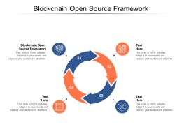 Blockchain Open Source Framework Ppt Powerpoint Presentation Outline Slides Cpb