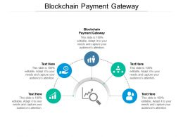 Blockchain Payment Gateway Ppt Powerpoint Presentation File Shapes Cpb