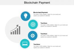 Blockchain Payment Ppt Powerpoint Presentation File Infographics Cpb