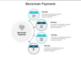 Blockchain Payments Ppt Powerpoint Presentation Infographic Template Visual Aids Cpb