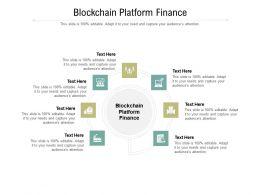 Blockchain Platform Finance Ppt Powerpoint Presentation File Gridlines Cpb