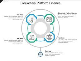 Blockchain Platform Finance Ppt Powerpoint Presentation Infographic Template Elements Cpb