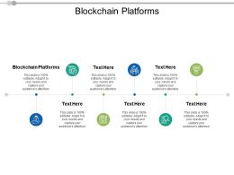 Blockchain Platforms Ppt Powerpoint Presentation Infographic Template Layouts Cpb