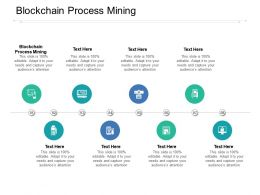 Blockchain Process Mining Ppt Powerpoint Presentation Ideas Master Slide Cpb