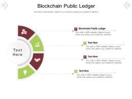 Blockchain Public Ledger Ppt Powerpoint Presentation Visual Aids Background Images Cpb