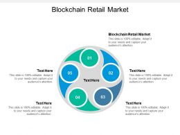 Blockchain Retail Market Ppt Powerpoint Presentation Model Visual Aids Cpb