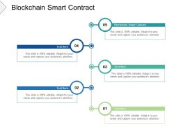 Blockchain Smart Contract Ppt Powerpoint Presentation Show Files Cpb