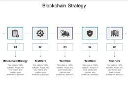 Blockchain Strategy Ppt Powerpoint Presentation File Diagrams Cpb