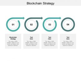 Blockchain Strategy Ppt Powerpoint Presentation Icon Example Cpb