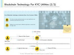 Blockchain Technology For KYC Utilities 457 Powerpoint Presentation Tips