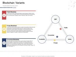 Blockchain Variants Blockstack Powerpoint Presentation Elements
