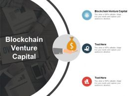 Blockchain Venture Capital Ppt Powerpoint Presentation Layouts Cpb