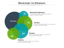 Blockchain VS Ethereum Ppt Powerpoint Presentation Portfolio Slideshow Cpb