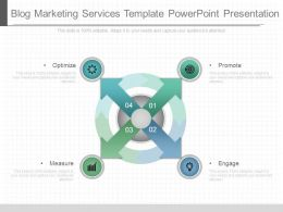 Blog Marketing Services Template Powerpoint Presentation