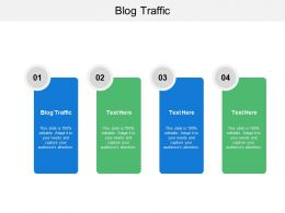 Blog Traffic Ppt Powerpoint Presentation File Picture Cpb