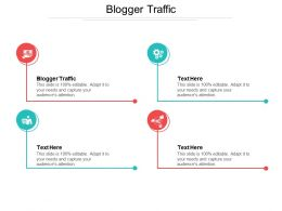 Blogger Traffic Ppt Powerpoint Presentation File Rules Cpb