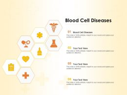 Blood Cell Diseases Ppt Powerpoint Presentation Infographic Template Themes