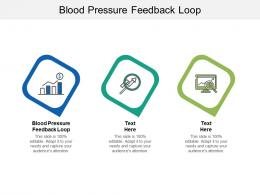 Blood Pressure Feedback Loop Ppt Powerpoint Presentation Show Graphics Template Cpb