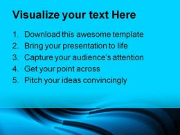Blue Abstract Background PowerPoint Templates And PowerPoint Backgrounds 0411  Presentation Themes and Graphics Slide02