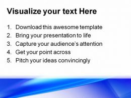 Blue Abstract PowerPoint Template 0910  Presentation Themes and Graphics Slide03