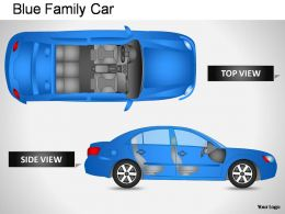 blue_family_car_top_view_powerpoint_presentation_slides_Slide01