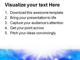 Blue Light Abstract PowerPoint Template 0910  Presentation Themes and Graphics Slide03