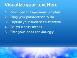 Blue Light Abstract PowerPoint Template 0910  Presentation Themes and Graphics Slide02