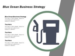 Blue Ocean Business Strategy Ppt Powerpoint Presentation Icon Background Images Cpb