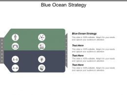 Blue Ocean Strategy Ppt Powerpoint Presentation Icon Infographic Template Cpb